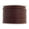 Leather Round Cord 1.5mm Dark Red